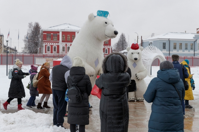 Ночная Тула. «Новогодняя столица России»