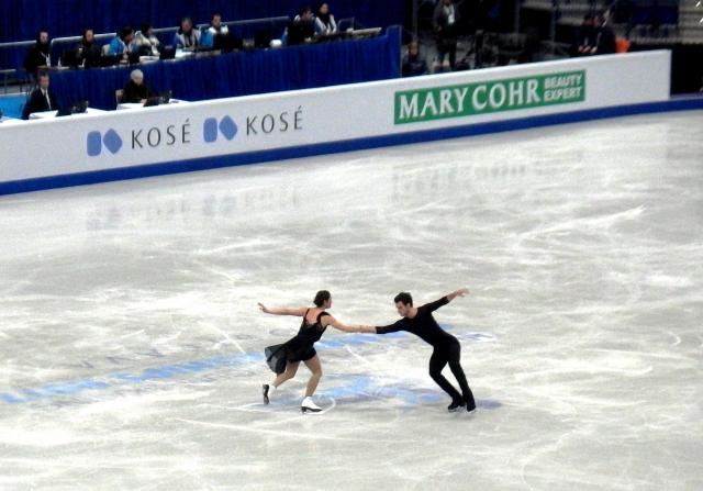 Синицына и Кацалапов третьи в танцах на льду на ГП в Ванкувере