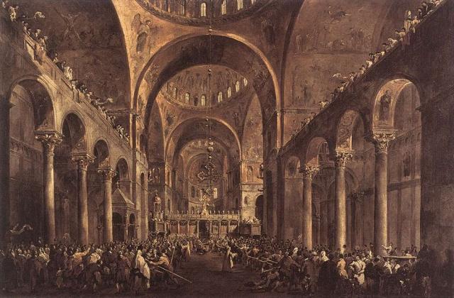 Франческо Гварди. Собор Святого Марка. XVIII век