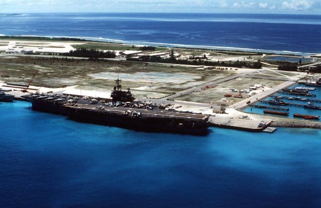 Военная база США на атолле Диего Гарсия