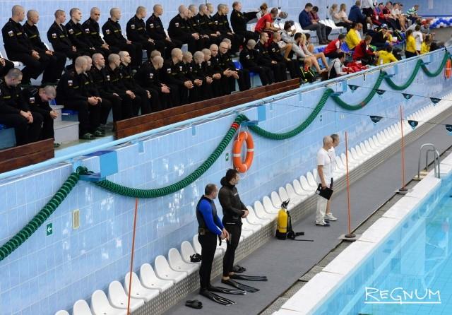 Международные соревнования чемпионата Международного совета военного спорта по водно-спасательному многоборью (спасению жизни)