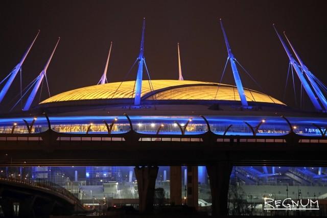 Домашний стадион «Зенита» получил название «Газпром Арена»