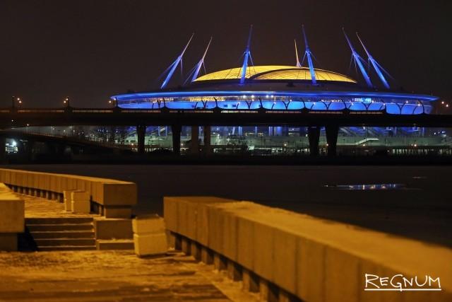 Стадион на Крестовском острове Петербурга
