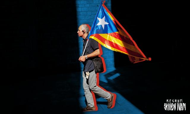 Сотни людей приняли участие в акциях протеста в Каталонии