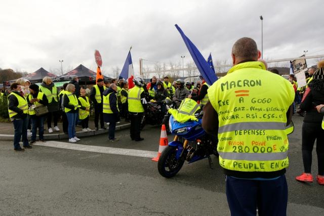 В Париже более 1,5 тыс. человек задержаны на акции протеста