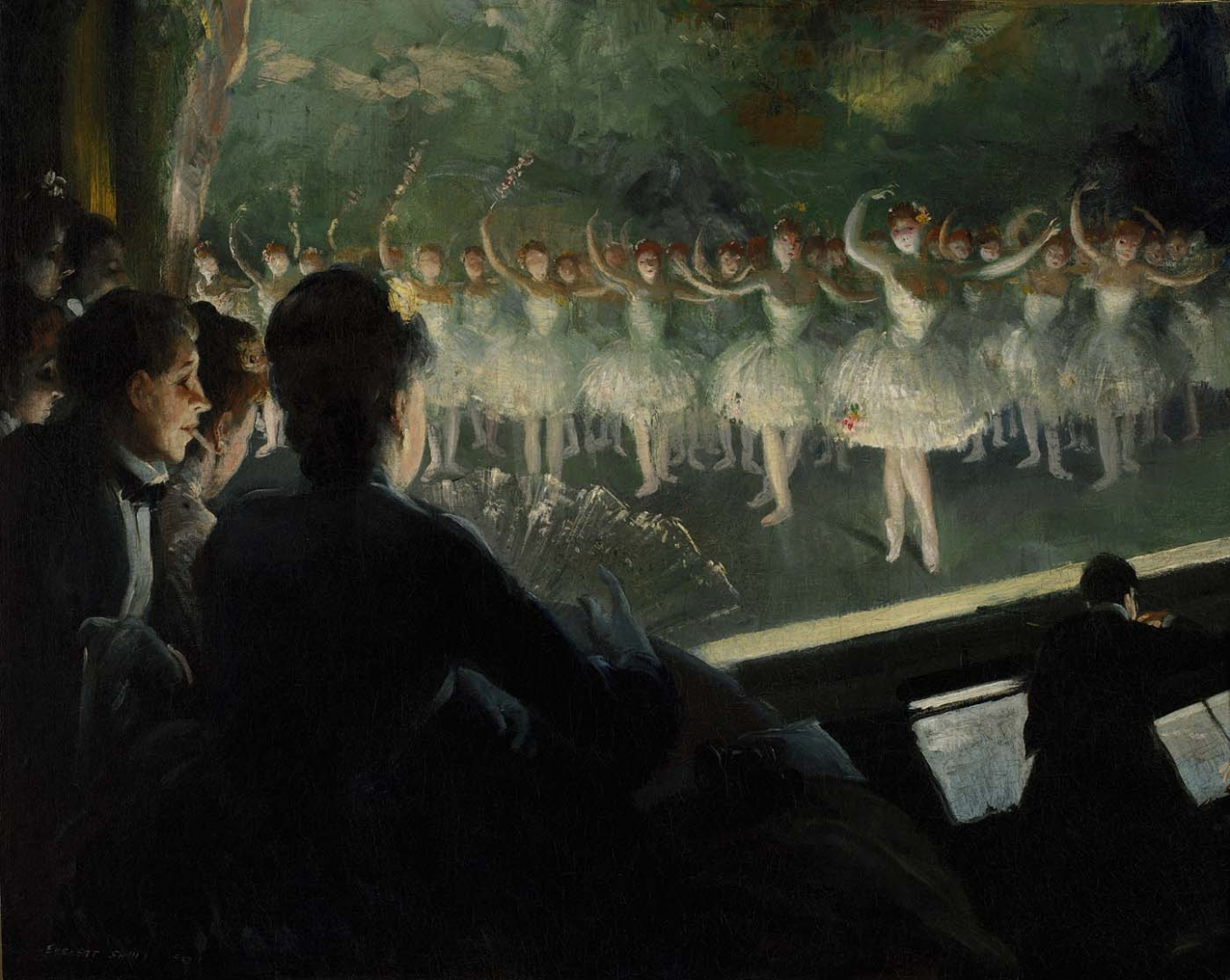 Эвертт Шинн. Белый балет