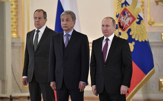 Посол Казахстана Имангали Тасмагамбетов