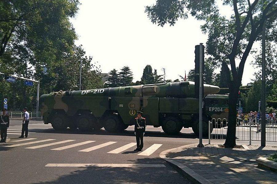 Баллистическая ракета DF-21D