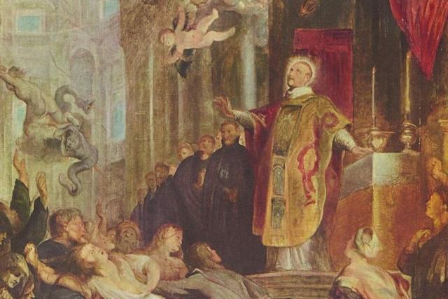 Питер Пауль Рубенс. Чудеса св. Игнатия Лойолы (фрагмент). 1620-1621