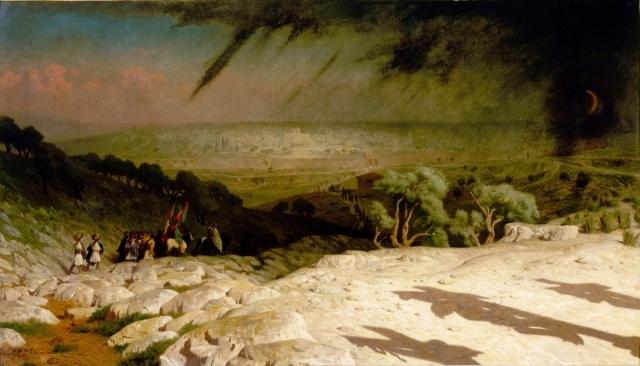 Жан-Леон Жером. Иерусалим. 1867