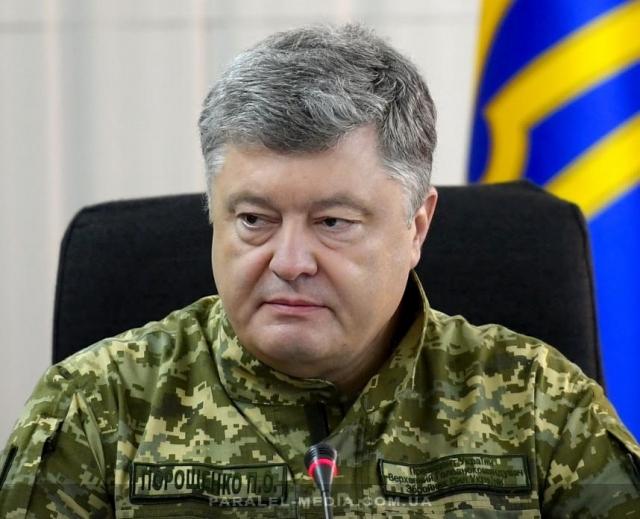 Порошенко заявил о «войне» с Россией в эфире телеканала США