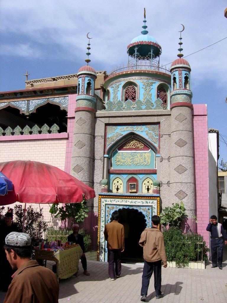 Уйгурская мечеть. Хотан