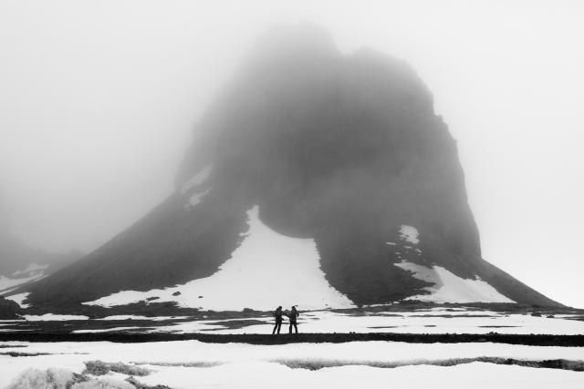 Погода во время высадок бывает разная. В тумане инспекторам приходится быть особенно начеку