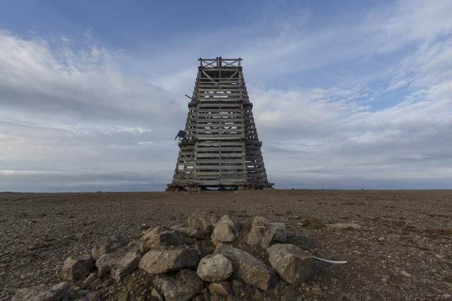 Легендарный маяк на мысе Желания, Новая Земля