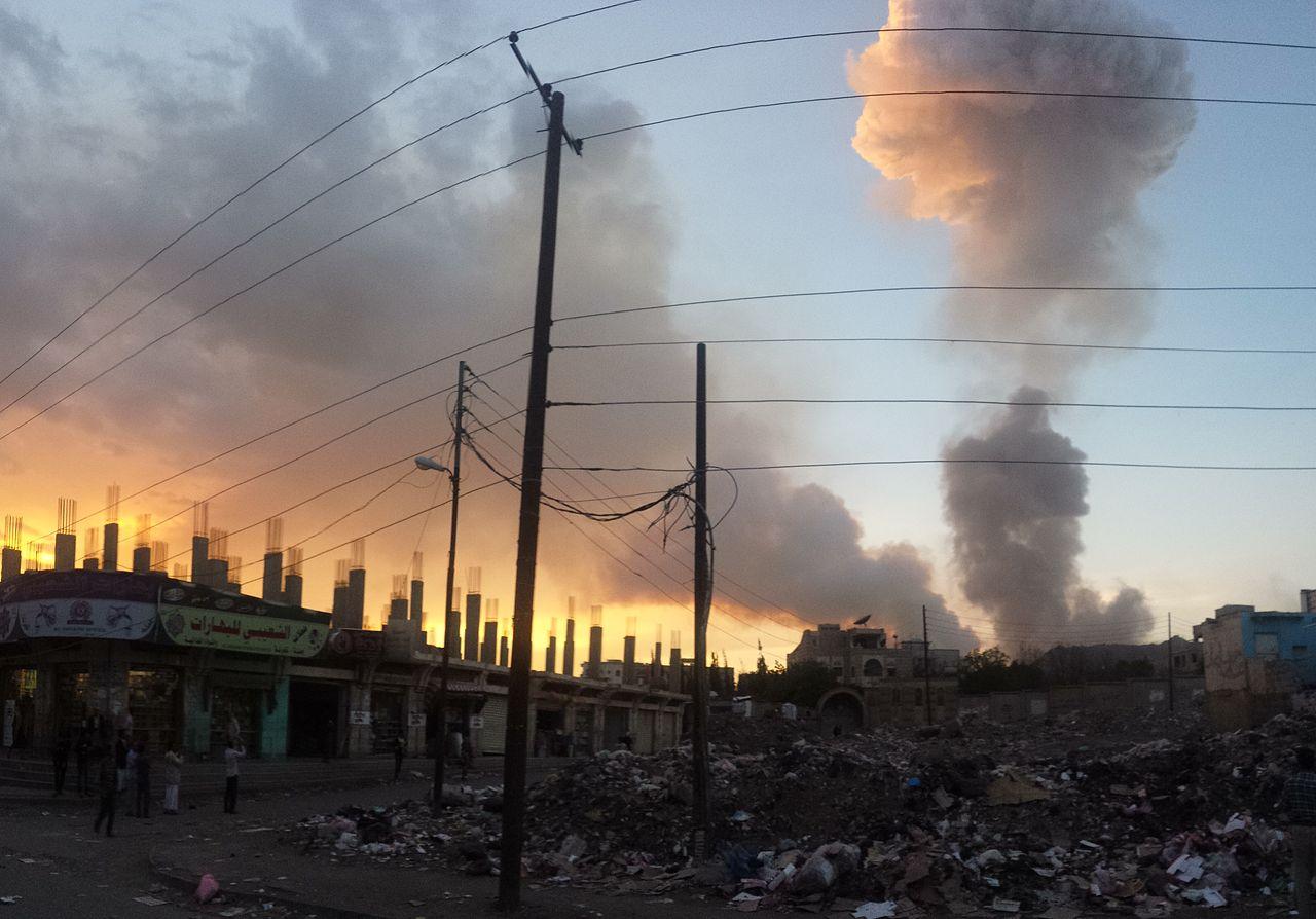 Бомбардировка. Йемен