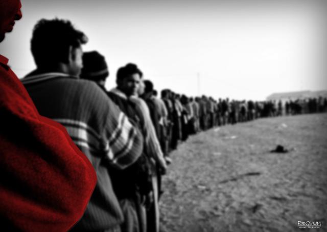 В Греции разбился фургон с мигрантами