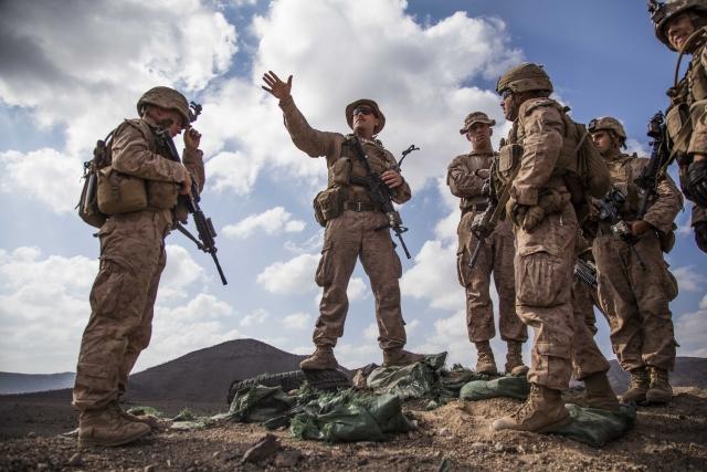 Американские военные в Джибути