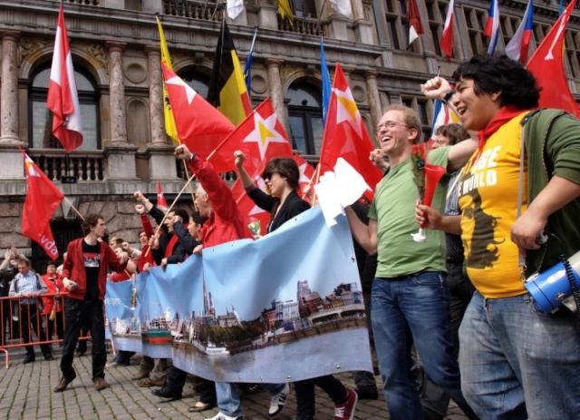 1 мая в Брюсселе