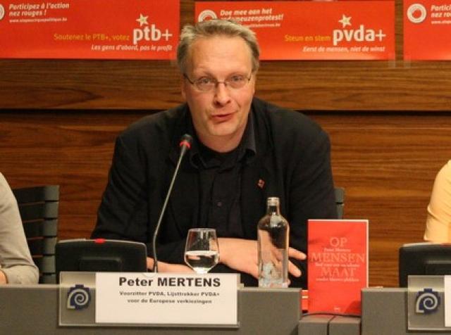 Председатель ПТБ Петер Мертенс