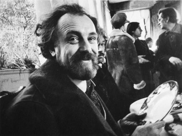 Иннокентий Смоктуновский на съемках фильма «Враги». Сочи. 1977