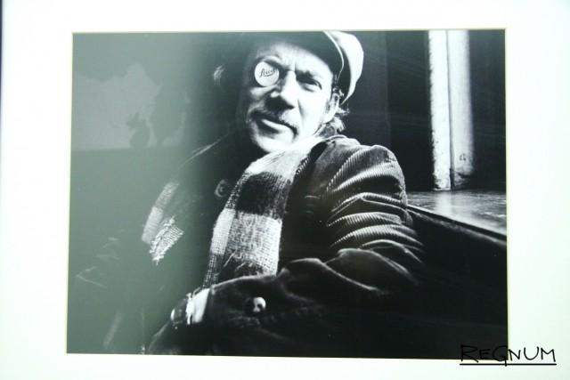 Художник Витаутас Калинаускас на съемках фильма «Это сладкое слово — свобода»