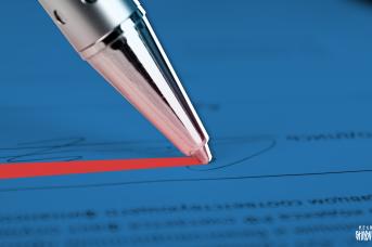 Подписание законопроекта
