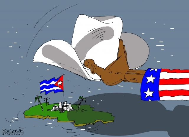 США считают поездку испанского лидера на Кубу недобрым знаком