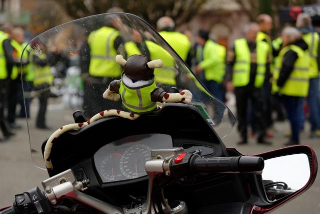 Причастность РФ к акциям протеста во Франции не установлена — СМИ