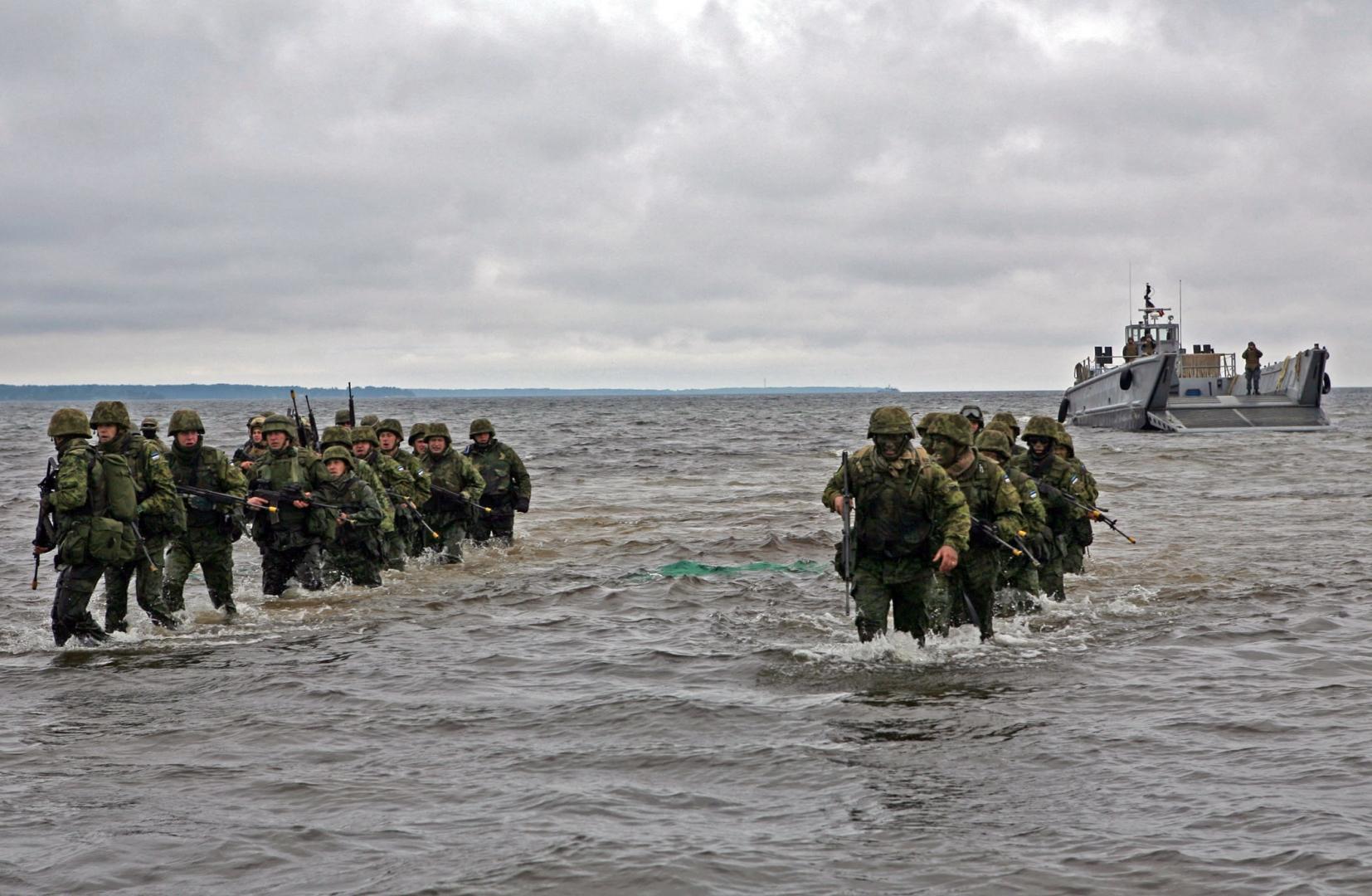 Солдаты НАТО в Эстонии