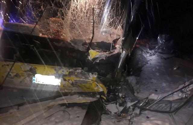 Трое военнослужащих ВСУ погибли в аварии под Львовом