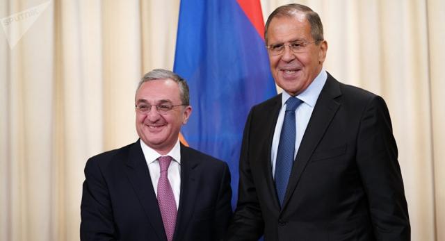 В МИД Армении поняли заявление Лаврова «по контексту»