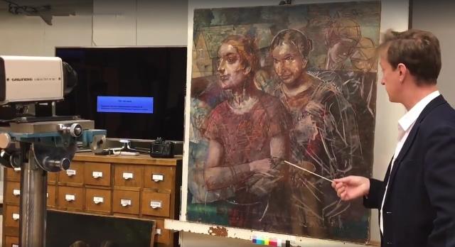 Под картиной Петрова-Водкина нашли утерянный портрет Пушкина