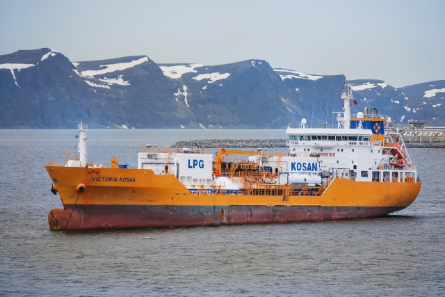 СПГ-танкер. Норвегия