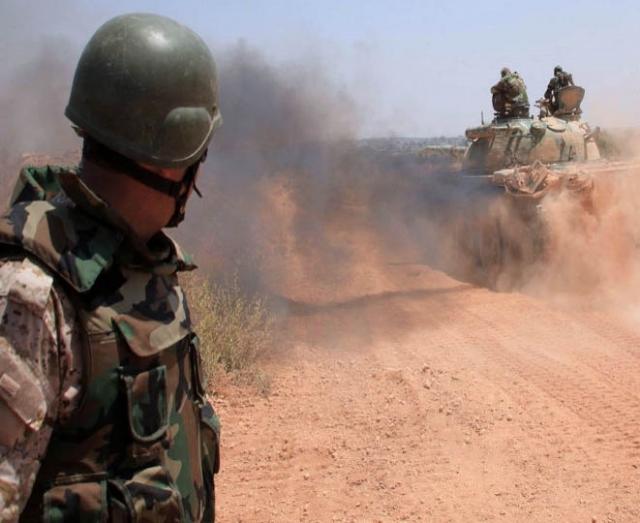 Сирийская армия наступает