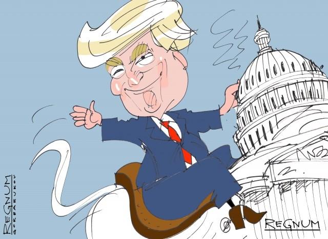 Трамп не смог победить Сирию. Сможет ли победить США?