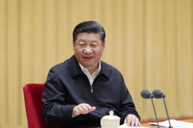 Си Цзиньпин на центральном совещании по международной политике. Пекин