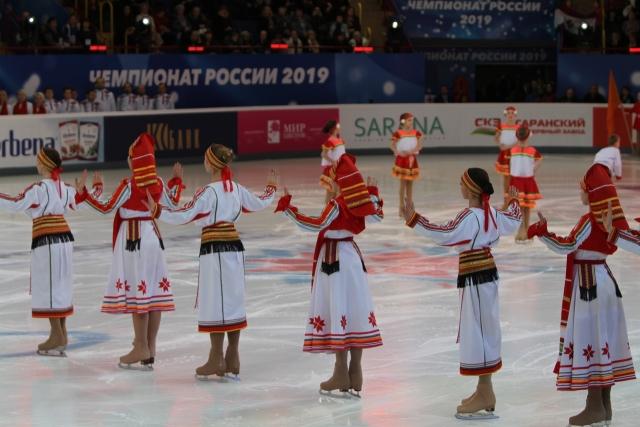 Выступление воспитанников ГБУ РМ «СШОР по фигурному катанию на коньках»