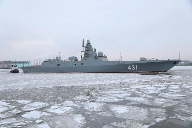 Фрегат «Адмирал Касатонов» вышел на испытания в Балтику