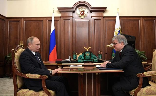 Владимир Путин и Ярослав Кузьминов
