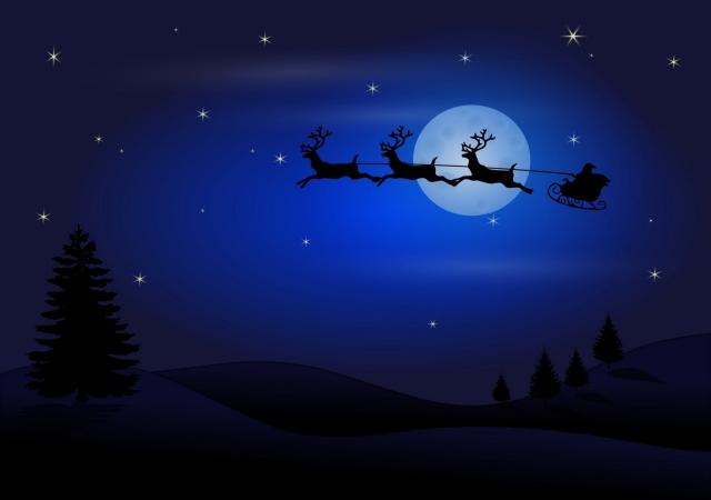 Сибирские учёные подсчитали скорость передвижения Деда Мороза