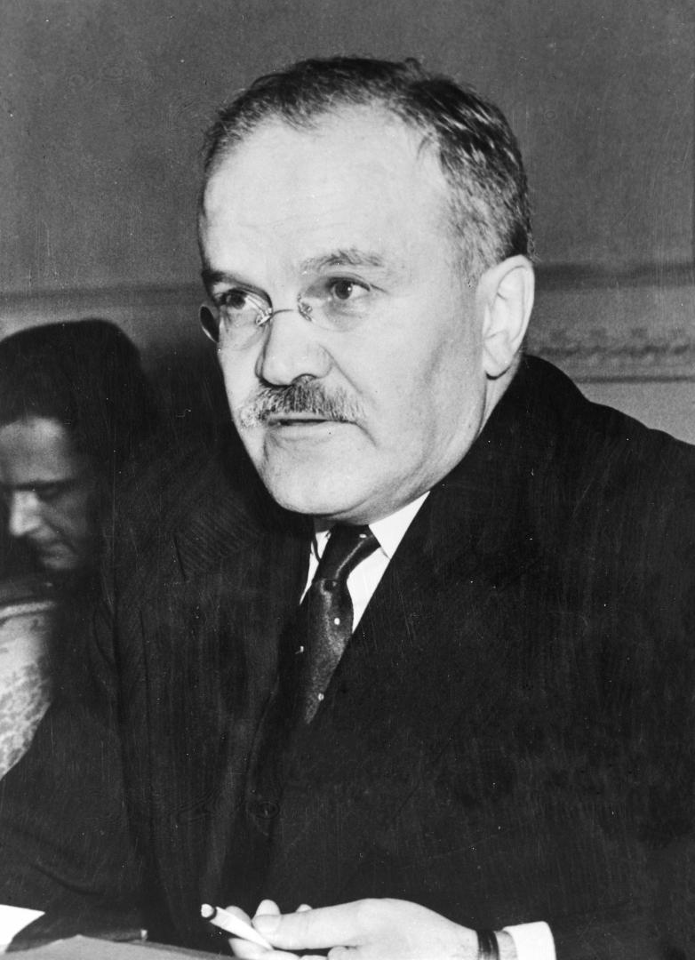 Вячеслав Молотов. 1945