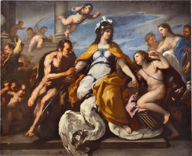 Паоло Де Маттеис. Любовь и пороки обезоруживают правосудие. 1720