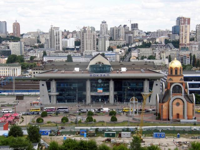 Южный вокзал в Киеве