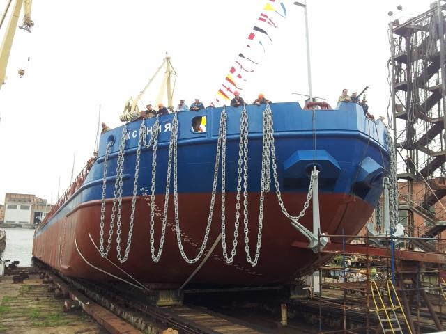 Нефтеналивной танкер ГК «Балтийская Топливная Компания»