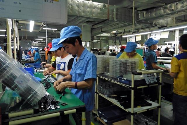 Сборочный цех. Китай