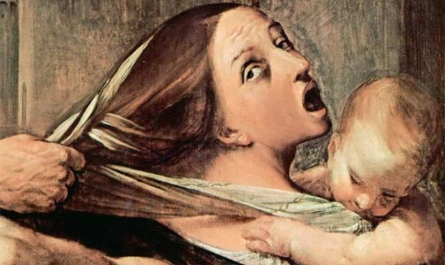 Гвидо Рени. Избиение младенцев. Фрагмент