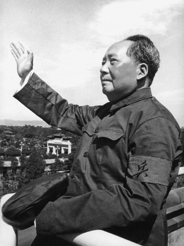 Мао Цзэдун. 1966