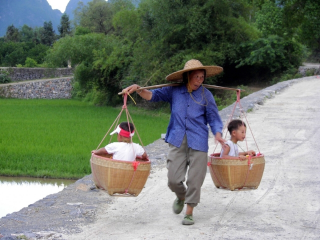 Китайская  крестьянка