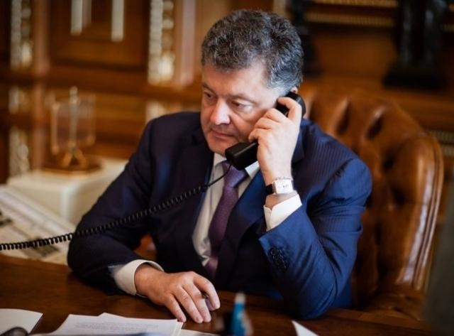 Назарбаев и Порошенко договорились активизировать сотрудничество