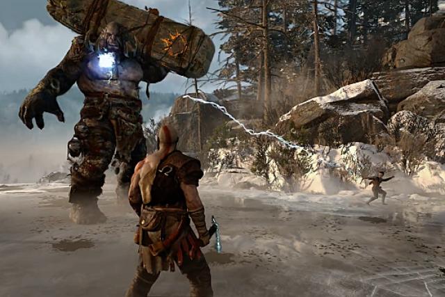 Скриншот игрового процесса игры God of War